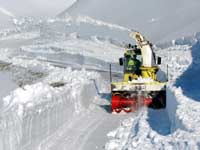 re-opening alpine passes