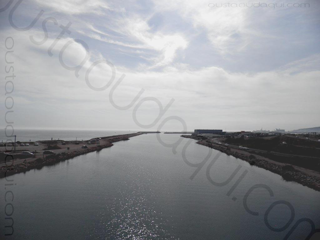 photographie prise le long de l'EuroVelo 8 & EuroVelo 17 (V60B) près de Sète