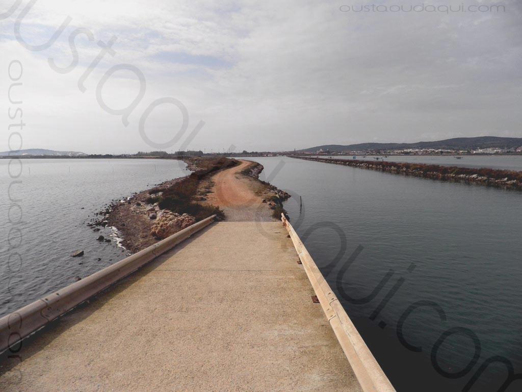 picture taken along the EuroVelo 8 & EuroVelo 17 (V60B) near Sète
