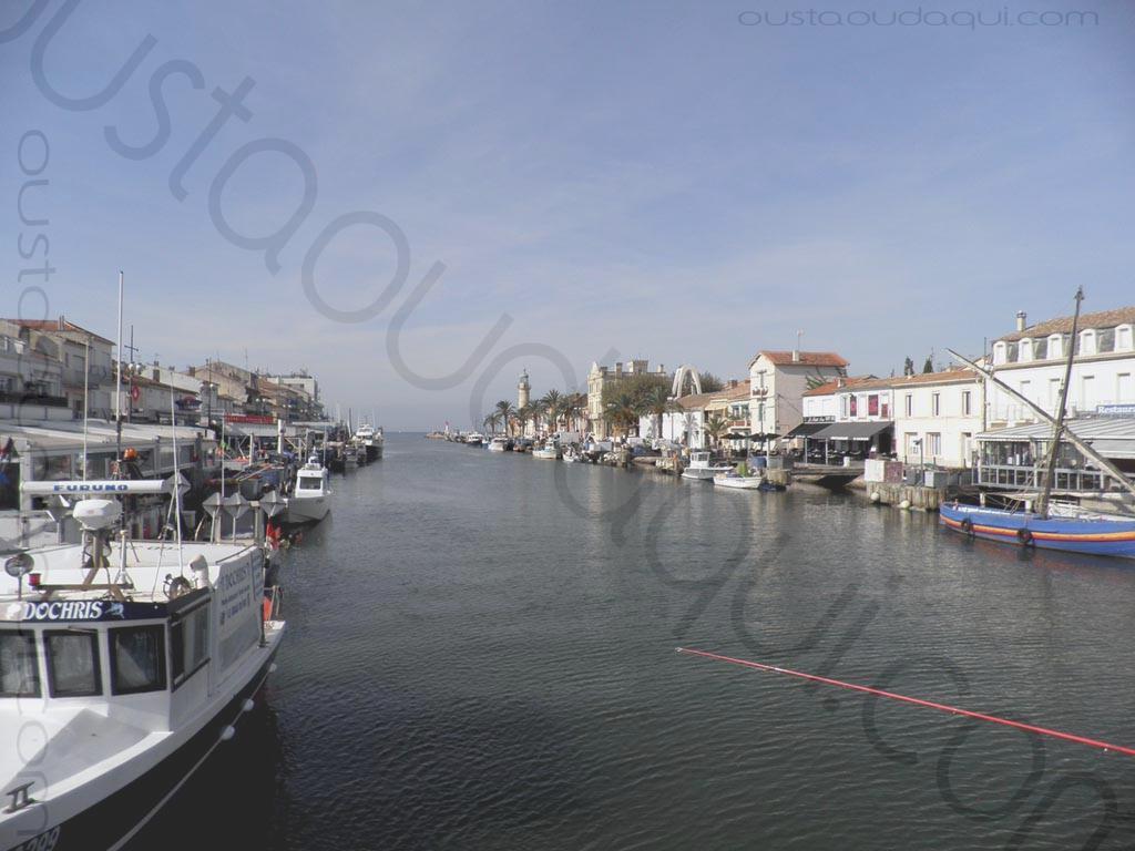 photographie prise le long de l'EuroVelo 8 & EuroVelo 17 (V60B) près de Le Grau du Roi