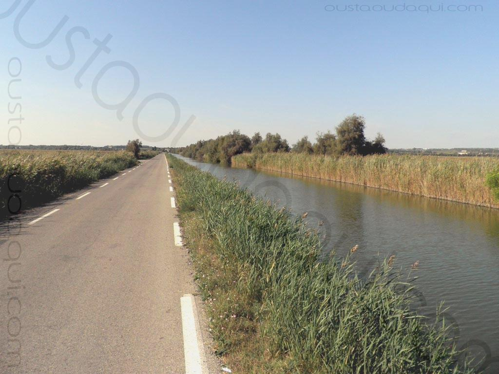 picture taken along the EuroVelo 8 & EuroVelo 17 (V60B) near Gallician
