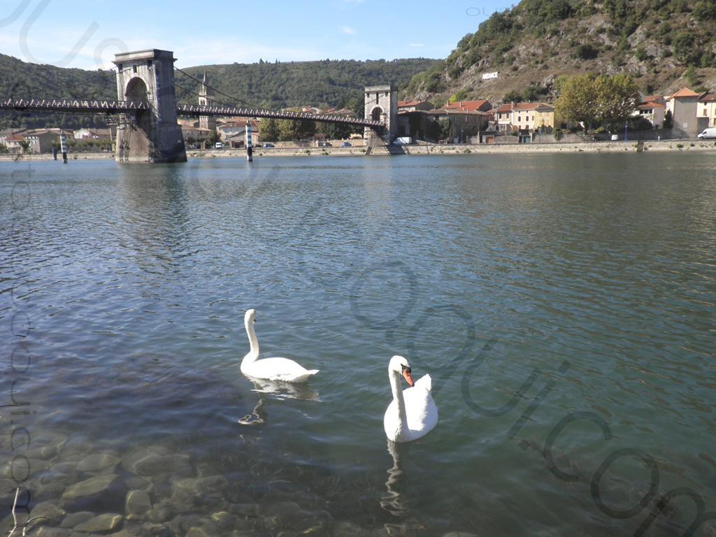 picture taken along the EuroVelo 17 near Andance
