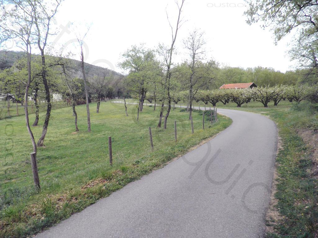 picture taken along the EuroVelo 17 near Andancette