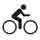 Estimated time riding a city or hybrid bicycle (av. speed 17 km.p.h) | directions on request